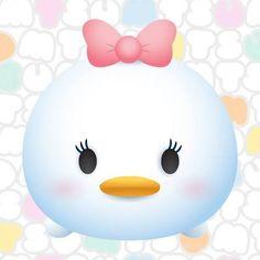 Image about cute in 😃tsum tsum ≧v≦○ by vivian ♪ Tsum Tsum Toys, Tsum Tsum Party, Tsum Tsum Characters, Disney Tsum Tsum, Disneyland Pins, Disney Pins, Cute Disney, Baby Disney, Rock Crafts
