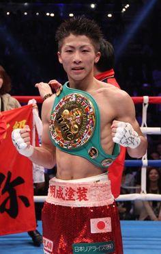 Naoya Inoue - WBO Super-Flyweight Champion from Japan Kick Boxing, Boxing News, Boxing Workout, Boxing Records, Boxing Images, Asian Wallpaper, Professional Boxing, Martial Artists, Superfly