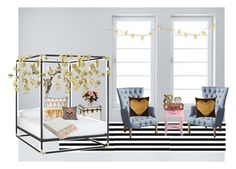 """Inspired by PB Teen's Emily and Merrit Collection"" by hayley-tennis ❤ liked on Polyvore featuring Jonathan Adler, Pottery Barn, Sass & Belle, CB2, H&M, ferm LIVING, Dot & Bo and Jaipur"