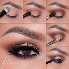 "Want to share a beautiful step by step created by @elymarino using the Amrezy palette 💕 thank you so much Ely  1⃣Begin by applying ""Vanilla"" onto the brow bone  2⃣Take ""Morocco"" and blend well into the crease and slightly above  3⃣Using ""Deep Plum"" apply it to the outer corner of the eyes and sweeping the color in the crease to keep it darkest in the outer corner  4⃣Take ""Glisten"" onto a flat Brush and pat on the lid  5⃣Line the waterline using Covet eyeliner in Noir and smudge out with…"