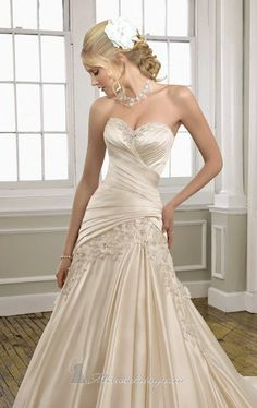 This is one of mine and Dad's favorites. Would love to see you try this one on........Mori Lee 1658 by Bridal by Mori Lee