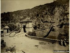 The Kohala Bridge located over the Jhelum River -  From 1880's