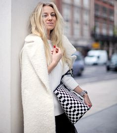 It's Still Trending: The Coat-As-A-Cape via @WhoWhatWear