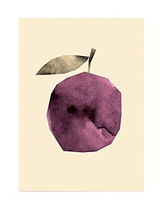 Darling Clementine Pickles Plum Poster (50x70cm)