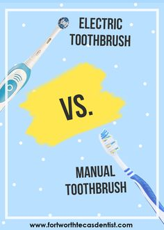 Electric Toothbrush vs. Manual Toothbrush. Which one shoould you use?