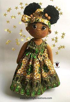 ideas crochet doll african american afro puff for 2020 Cute Crochet, Crochet For Kids, Crochet Baby, African Dolls, African American Dolls, Crochet Headband Pattern, Crochet Doll Pattern, Knitted Dolls, Crochet Dolls