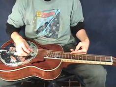 Shady Grove - Dobro Lesson - DADGAd Tuning - YouTube