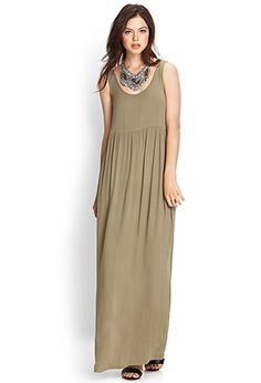 Crepe Woven Maxi Dress | FOREVER 21 - 2000073604
