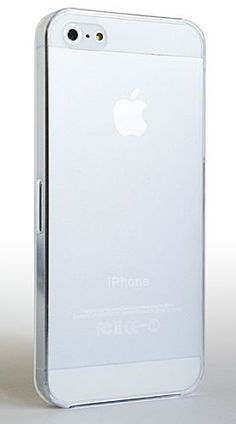 CASEiLIKE® - Apple iPhone 5 - Ultra Thin Hard Plastic Snap On Case Back Cover - Frosted WHITE Translucent - with SCREEN PROTECTOR