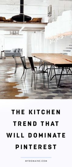 The next big kitchen décor trend
