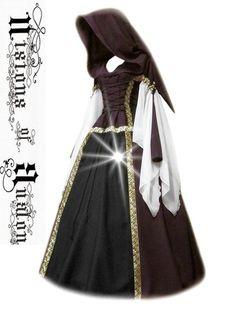 medieval dress costume medieval dress garb Renaissance larp celtic fantasy