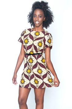 Sundance Shift Dress - Shop #AfricanFashion at Kuwala!