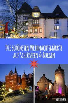 Wir haben Dir eine Liste mit den schönsten Weihnachtsmärkten auf Schlössern und Burgen in NRW zusammengestellt - so romantisch! #deinnrw © Porzellanmanufaktur FÜRSTENBERG GmbH; Jürgen Sittig; Michelle Wolzenburg Märkischer Kreis