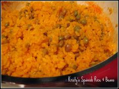 Kristy's Spanish Rice and Beans Recipe