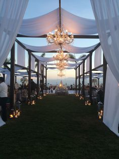 Outdoor beach wedding at the hotel del Coronado sandiego
