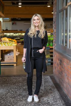 #mymoochistyle featuring gracie taylor Black Jeans, Hair Color, Normcore, Sporty, Colour, Women, Style, Fashion, Color