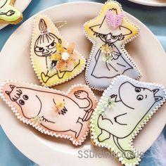 ムーミンアイシングクッキー♪