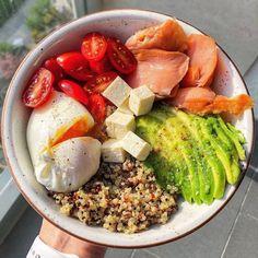 Красивая эстетическая еда обед ужин Healthy Junk, Healthy Meal Prep, Healthy Snacks, Healthy Eating, Healthy Recipes, Food Goals, Aesthetic Food, Veggie Recipes, Food Inspiration