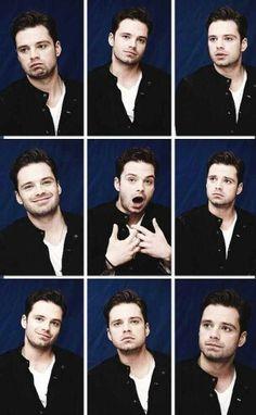 He is so goofy it's sexy... love goofy sweet guys