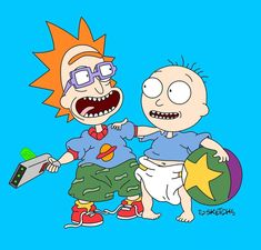 Rick and Morty x The Rugrats