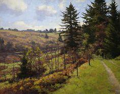 spring road 24x30 jpeg by Jim McVicker Oil ~ 24 x 30