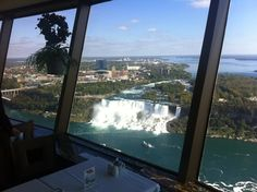 Niagara Fallsclifton Hill View From Skylon  Canada  Pinterest Adorable Skylon Revolving Dining Room Decorating Design