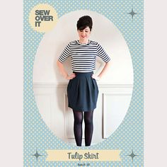 The Tulip Skirtis now available as a pattern to buy!