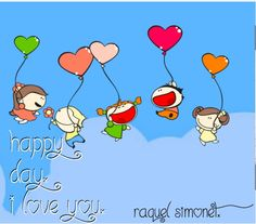 Check out my new PixTeller design! :: Happy day.i love you. raquel simonet.