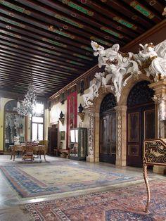 Palazzo Merati-Cannaregio, Venice - palazzo hall,