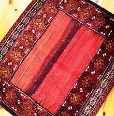 Old sofreh from Balouch tribes in south of Iran ...100% wool