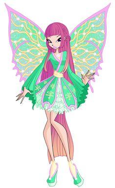 Roxy Imperix Concept by Winx-Rainbow-Love on DeviantArt Winx Club, Roxy, Twilight Equestria Girl, Les Winx, Club Design, Bloom, Cool Cartoons, Magical Girl, Disney Art