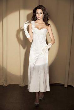 Fashion Bug Plus Size #Sexy White Floral One Shoulder Lace Up Corset Top #Lingerie