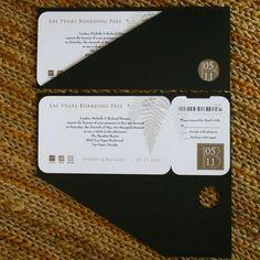 boarding pass invitations - Google Search