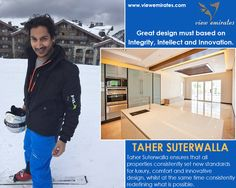 "Taher Suterwalla : ""Dreams don't work unless you do."""