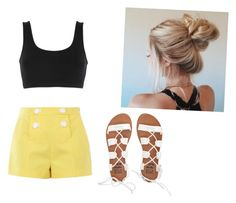 """""""Untitled #23"""" by amy-kate-hamann on Polyvore featuring adidas Originals, Boutique Moschino and Billabong"""