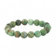 African Jade Stretchy Bracelet