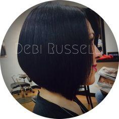 Triangular grad. Haircut love! @debirussellhair