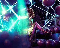 Bedazzling Futuristic Fashion - The Vice German 'Weltraumober' Editorial Stars Elizaveta Porodina