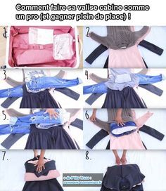 The best DIY projects & DIY ideas and tutorials: sewing, paper craft, DIY. Ideas About DIY Life Hacks & Crafts 2017 / 2018 Comment Faire Sa Valise Cabine Comme un PRO (et Gagner Plein de Place) ! Suitcase Packing, Packing Tips For Travel, Travel Hacks, Travel Guides, Cabin Suitcase, Diy Adult, Summer Diy, Travel Scrapbook, Ireland Travel