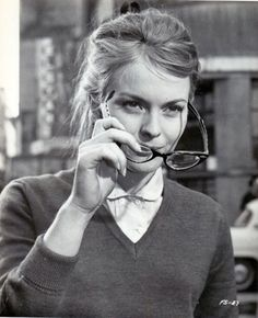 Jean Seberg in the French Style, 1963.