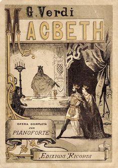 Spartito-Macbeth Giuseppe Verdi #TuscanyAgriturismoGiratola