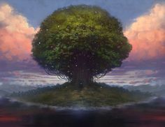 The Tree of Life, spreading its roots across all of reality from Valhalla or InnaGaddaDaVida or what have you, sits placidly upon its hill. No man has ever laid eyes upon it, but plenty of Nightcrawlers dwell in its slowly hollowing trunk.