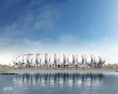 Amazing stadium architecture