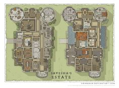 Wizards Academy - Savesha's Estate by SirInkman.deviantart.com on @DeviantArt