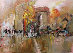 Star palace. Paris, by Mstislav Pavlov