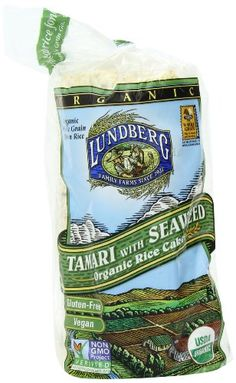 Lundberg Organic Tamari With Seaweed Rice Cake 85Ounce Units  Pack of 12 *** Check out this great product.