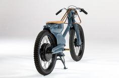 Elektrisch voran: Der E-Motor des Bikes leistet 5,2 kW, als Stromspeicher dient...