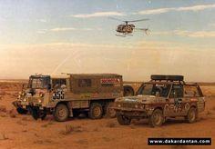 Guy Pradat, Dakar 82