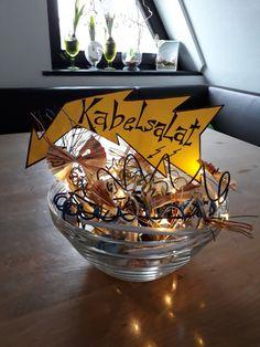 Kabelsalat - Geldgeschenk für Elektriker oder Technikfreaks