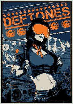 Deftones - Vance Kelly - 2013 ----